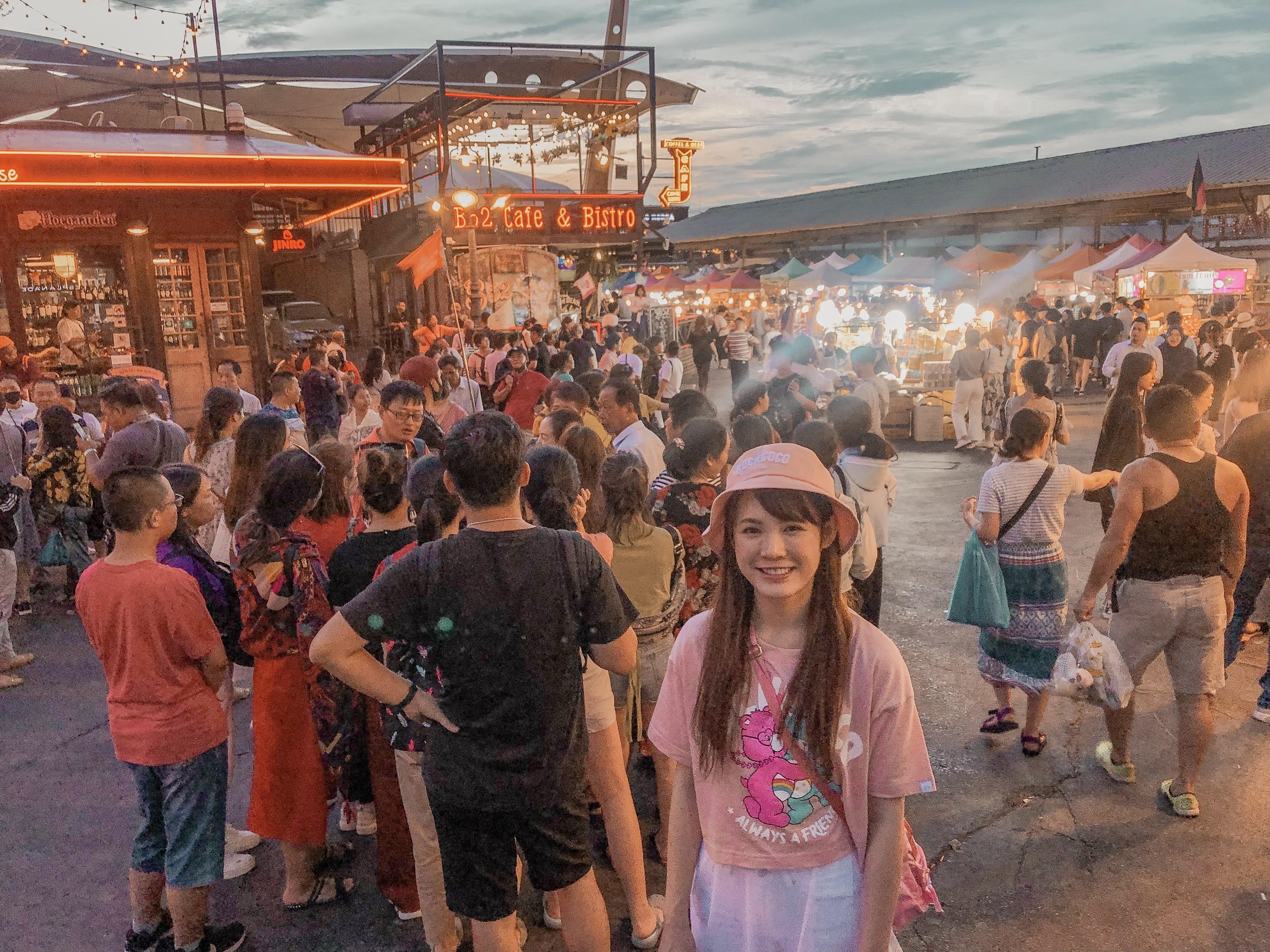 ▲吳心緹日前和友人去泰國曼谷玩了五天。