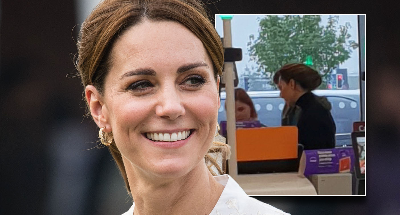 The Duchess of Cambridge was pictured shopping at Sainsbury's. [Photo: SWNS/Getty]