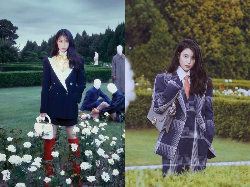 IU近期登上韓國時尚雜誌《Dazed Korea》封面人物。(截自Dazed Korea IG)
