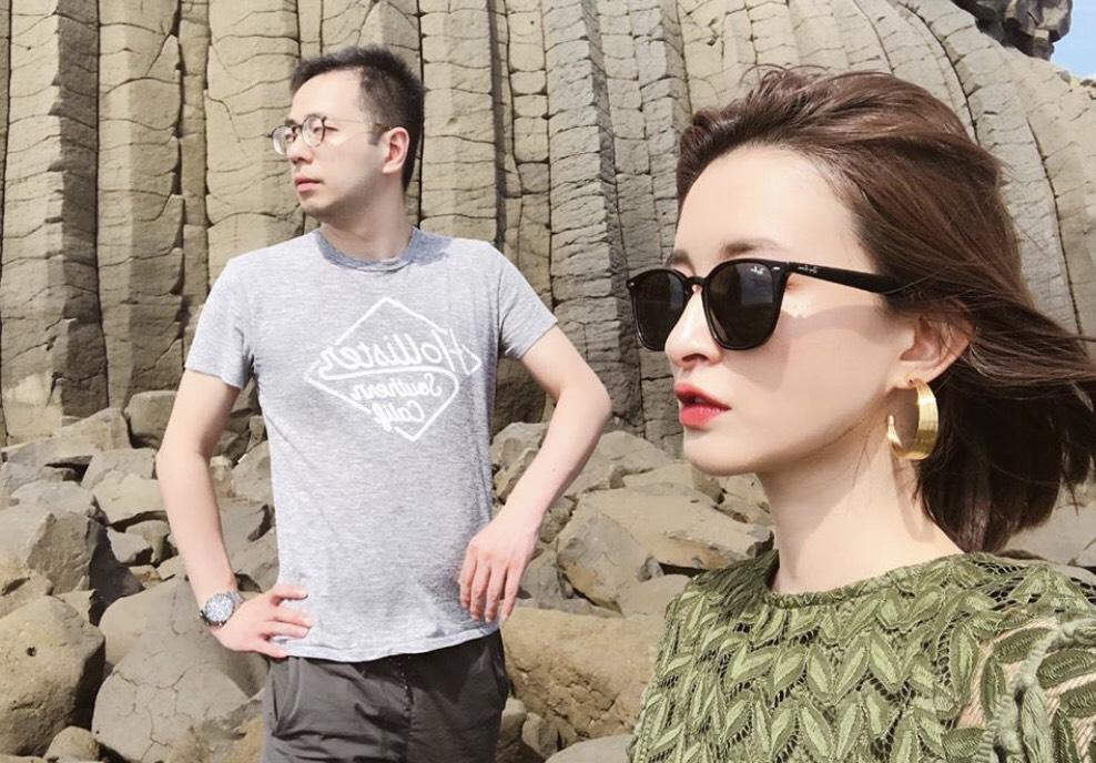 ▲為了慶祝生日,薛妞妞與先生展開四天的澎湖旅行。