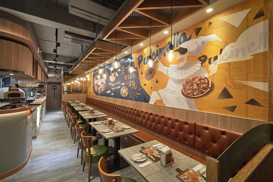 天母創始店重新裝潢再開店,空間兼具設計和溫馨氛圍。