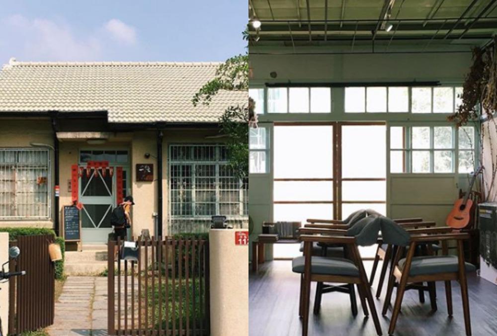 勝利新村內有咖啡廳、古書店進駐,充滿濃濃文藝氣息。