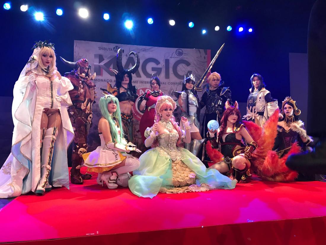 MAGIC Kyoto 2018盛況,在舞台上的Cosplayer