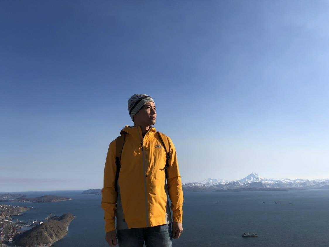 ▲因为外景节目主持,让刘杰中第一次赴俄罗斯旅行。