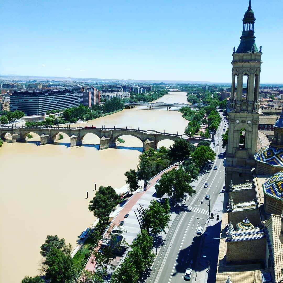 ▲謝承均這次還去了西班牙第五大城Zaragoza。