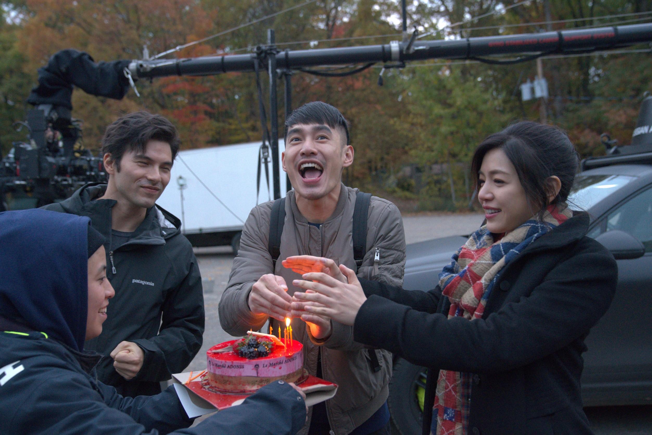 劇組跟鳳小岳陳妍希幫張書豪驚喜慶生