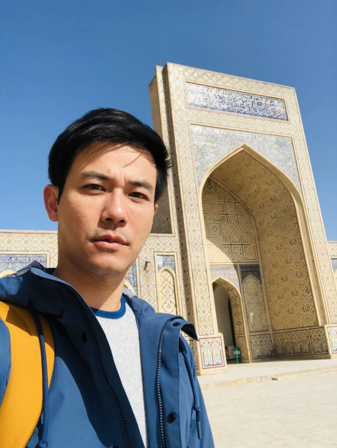 ▲刘杰中希望下次旅行可以去让他放空休息的地方。