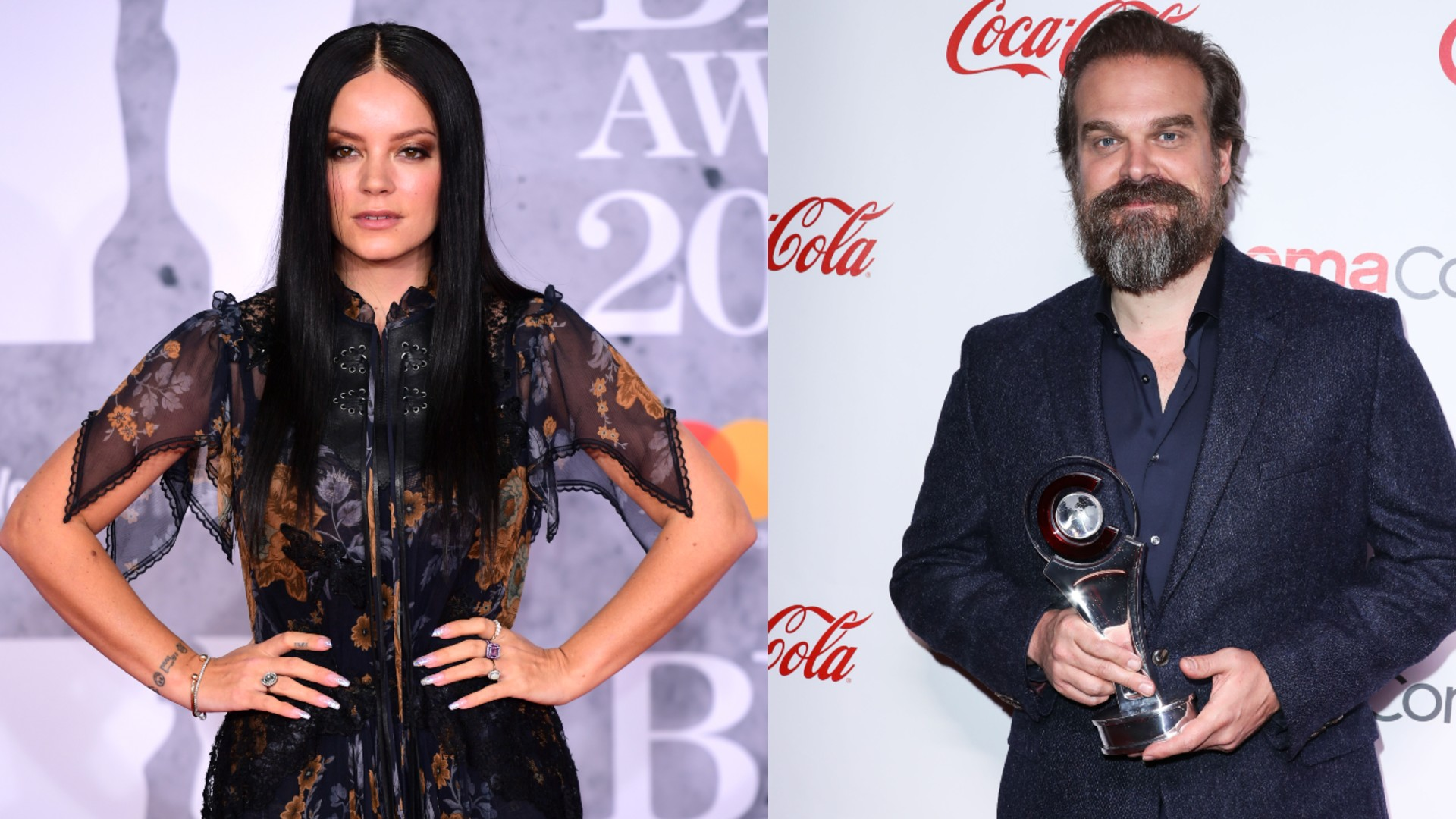 Lily Allen and David Harbour are dating (Credit: PA)