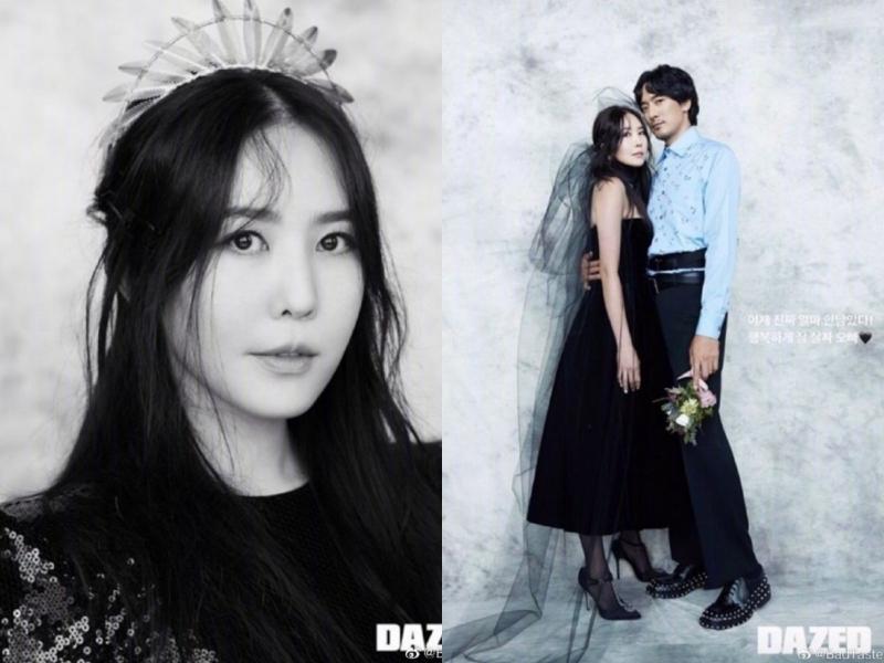 GD親姐權達美在上月公開將與演員金敏俊結婚的消息。(截自Dazed Korea IG)