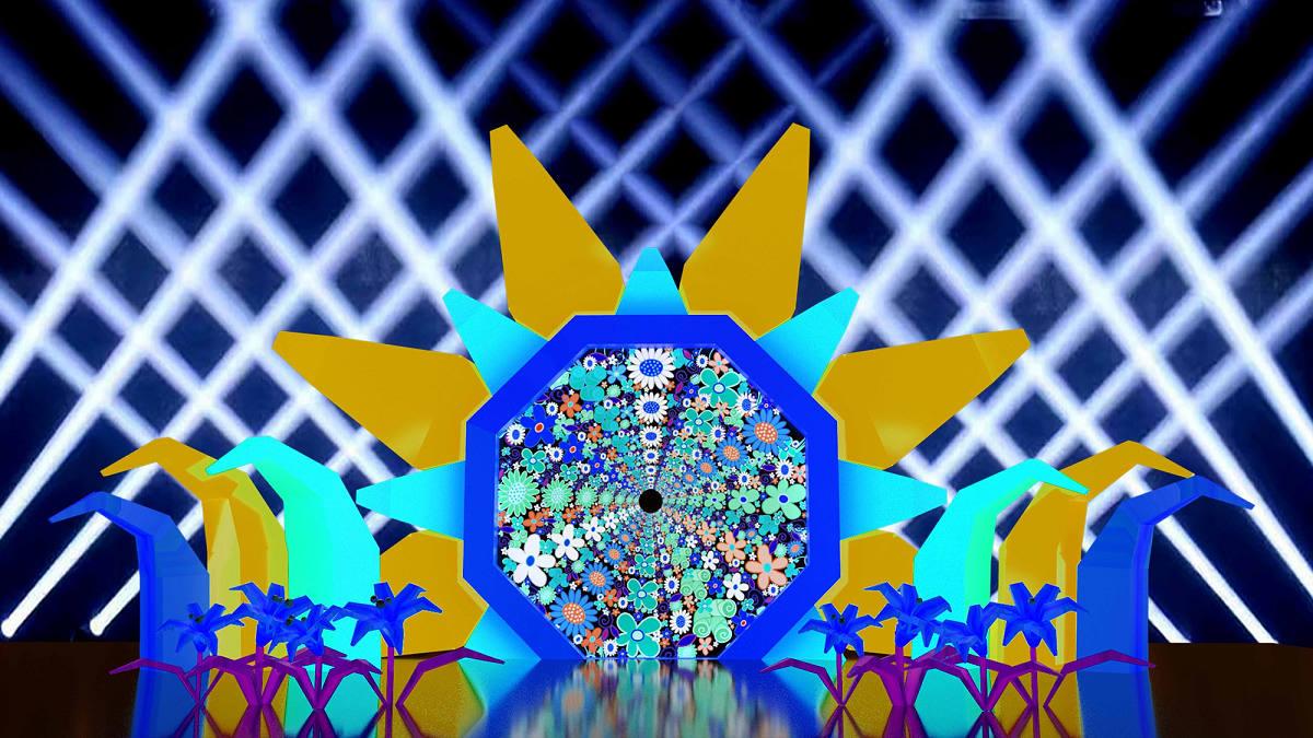 大型光影裝置藝術(圖片來源:花蓮觀光粉絲團FB)