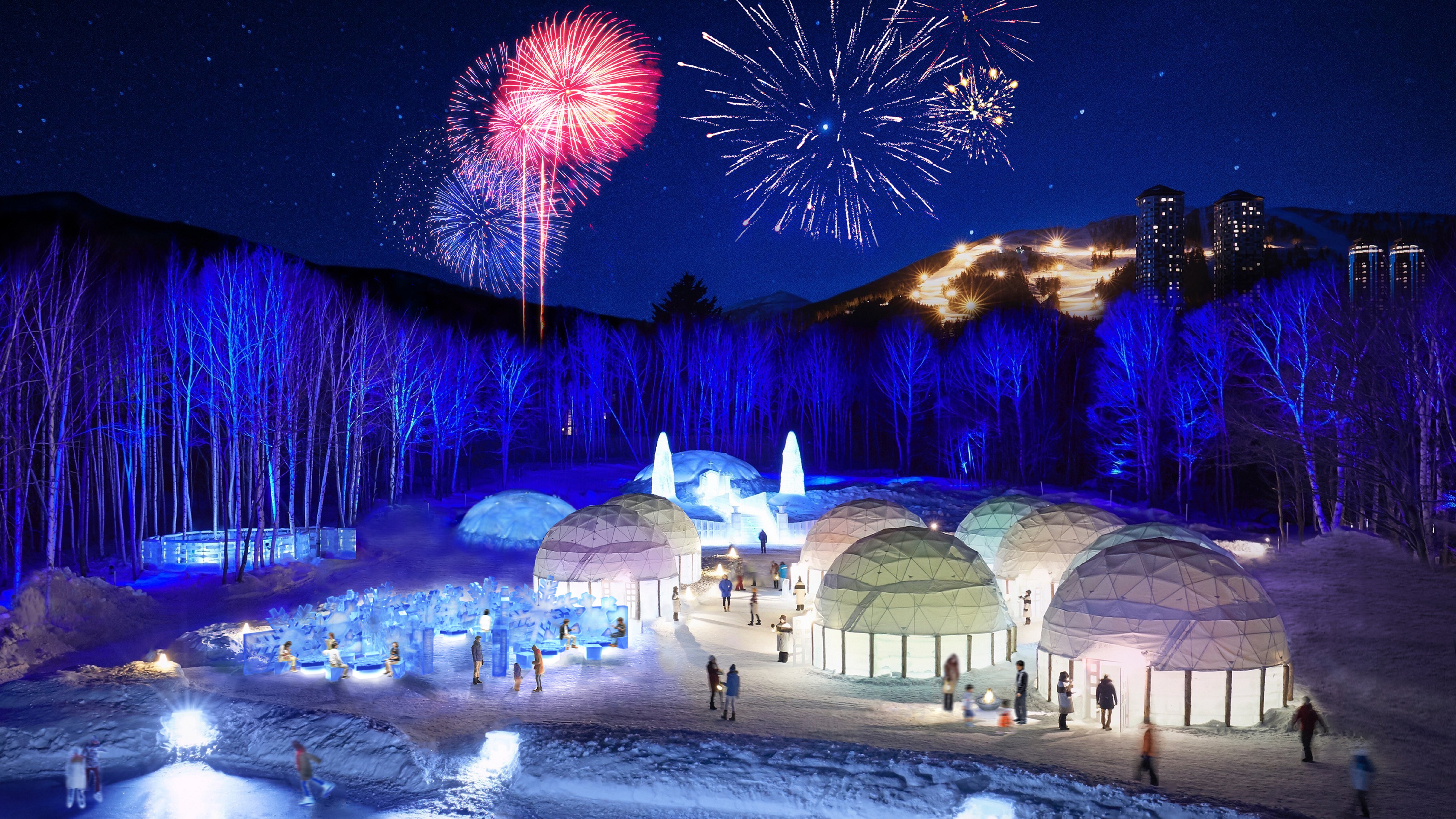 冬遊星野度假村六大夢幻亮點 雪屋圍爐、冰之甜點、冰雪酒吧、冰瀑溫泉、冰之旅館、冰上露天溫泉風呂絕美體驗