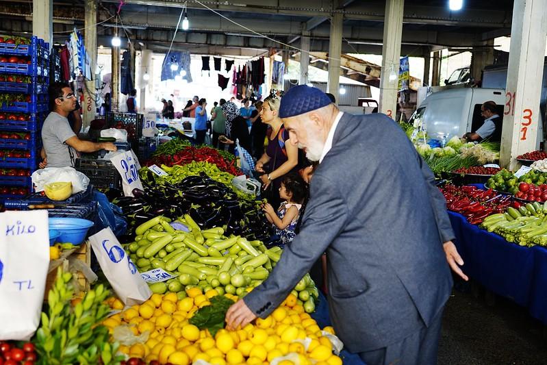 伊斯坦堡 週六限定在地市集 Besiktas Saturday Market