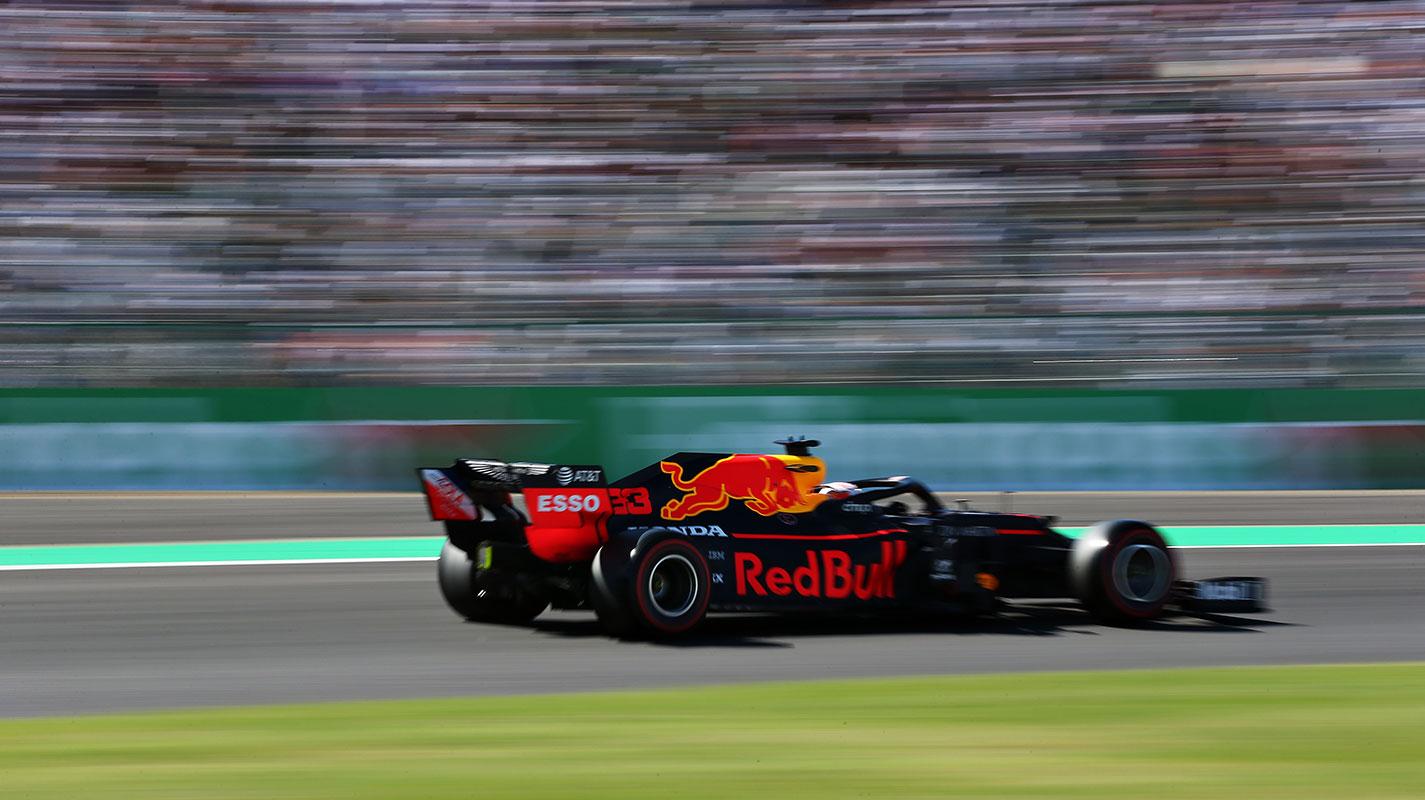 與Leclerc的碰撞讓Verstappen損失25%下壓力