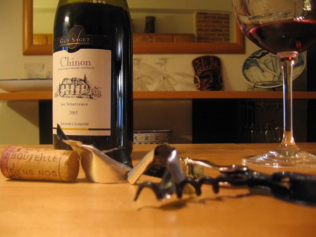 羅亞爾河谷地葡萄酒 (Photo by vinotrip, License: CC BY 2.0, 圖片來源www.flickr.com/photos/23678770@N03/2383191527)