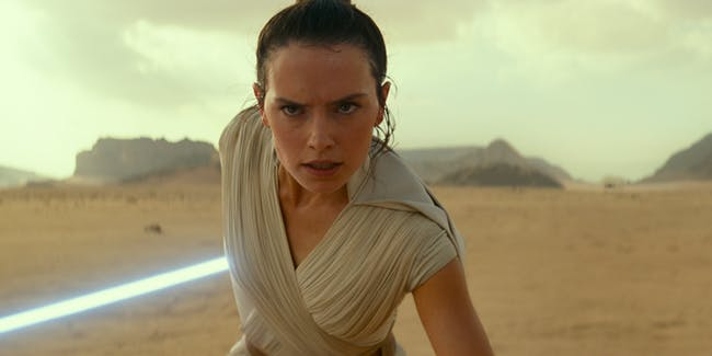 Daisy Ridley as Rey