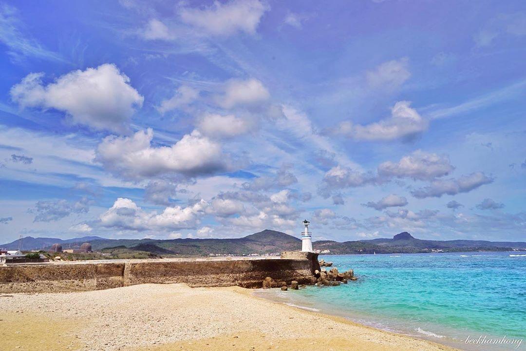 碧海藍天的美景,拍起來唯美得不真實