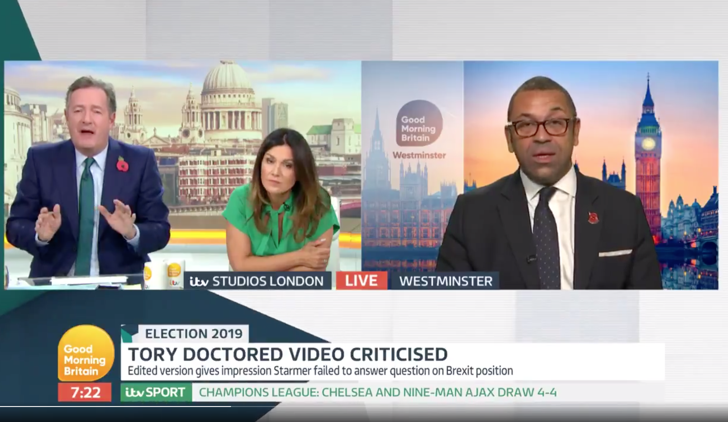 Ofcom could investigate Kay Burley 'empty chairing' James Cleverly
