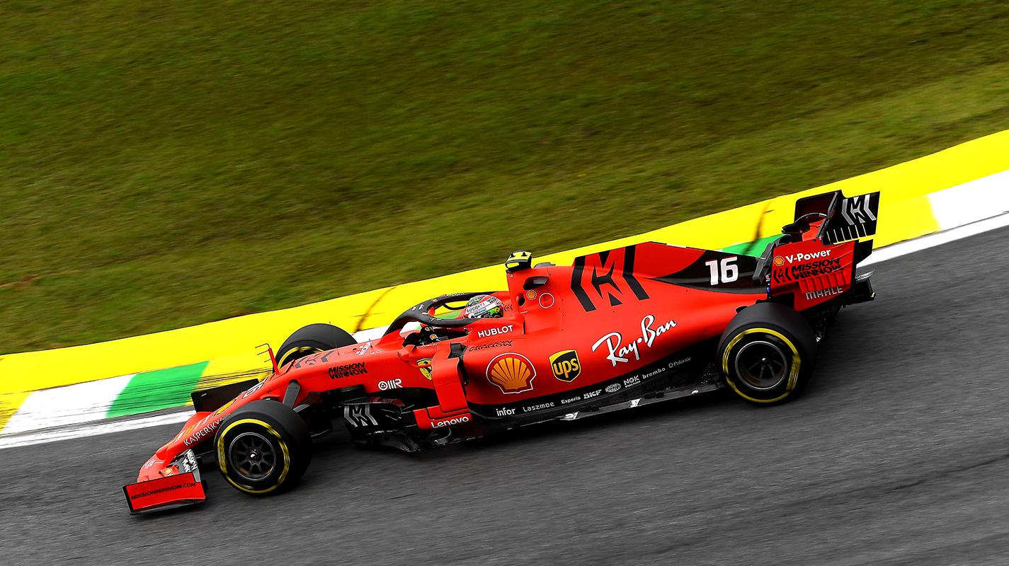 愚蠢失誤害Leclerc錯過巴西GP排位賽的最快