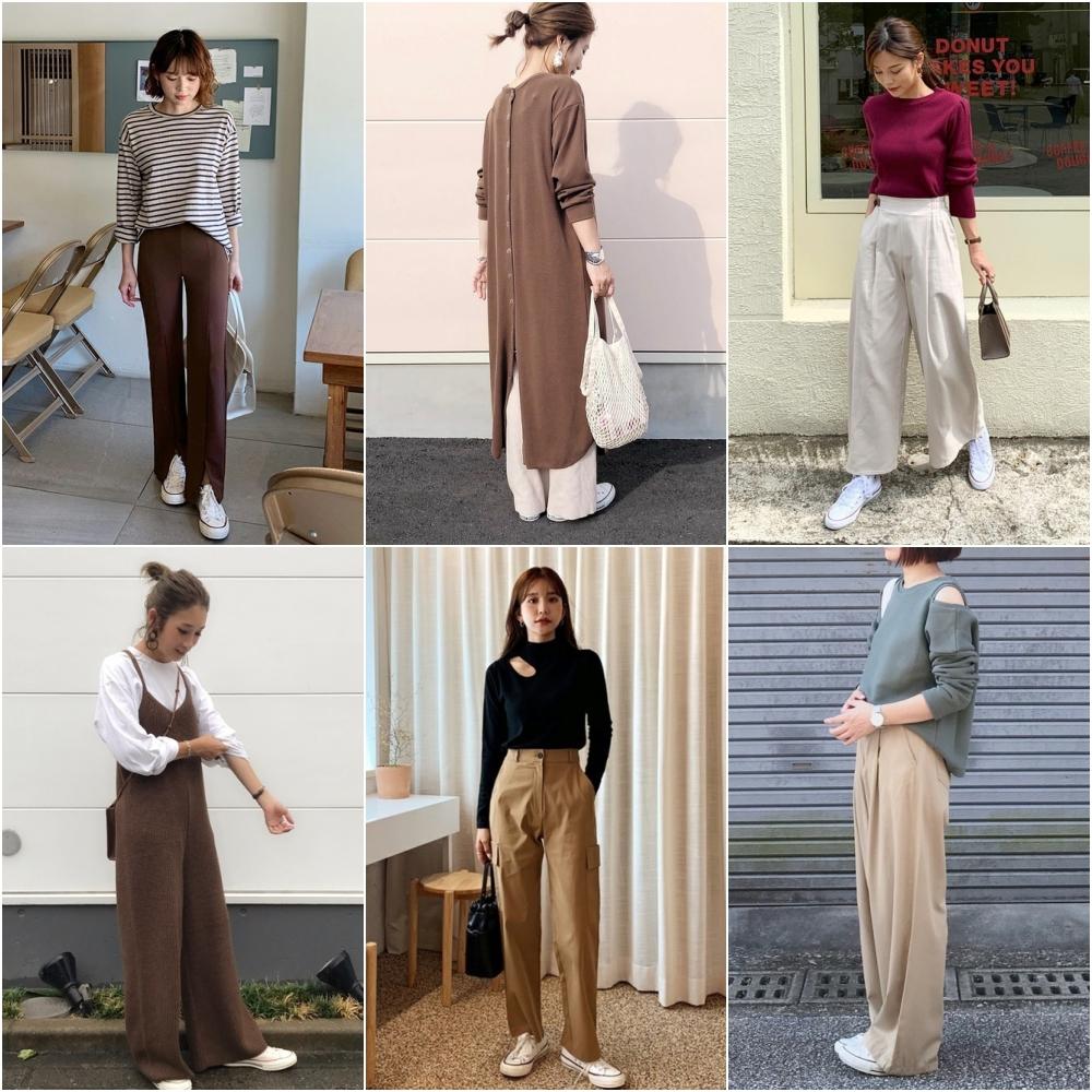 寬褲可以說是東方女生衣櫃一定有的關鍵品項