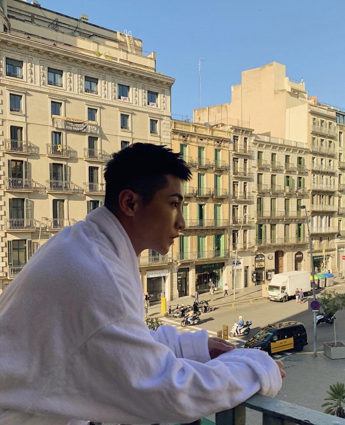 ▲這次透過飯店比價軟體,讓阿蹦順利找到在巴塞隆納鬧區附近的飯店。