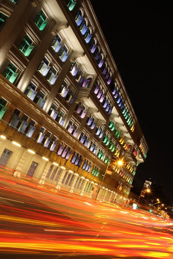 舊禧街警察局(Photo by yeowatzup, License: CC BY 2.0, 圖片來源commons.wikimedia.org/wiki/File:MICA_Building,_Singapore_(4157464053).jpg)