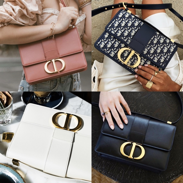 Dior年度爆紅的It Bag「30 Montaigne」,也就是大家所暱稱的蒙田包
