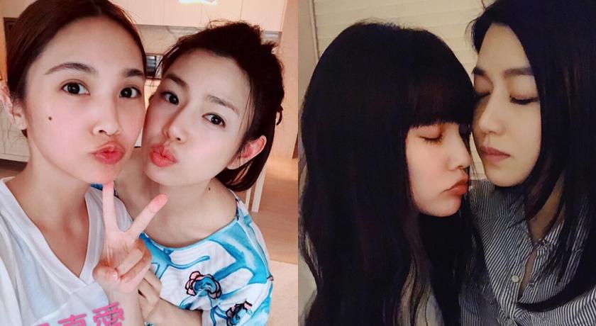 陳妍希、楊丞琳好交情到可以互「啵」的地步。