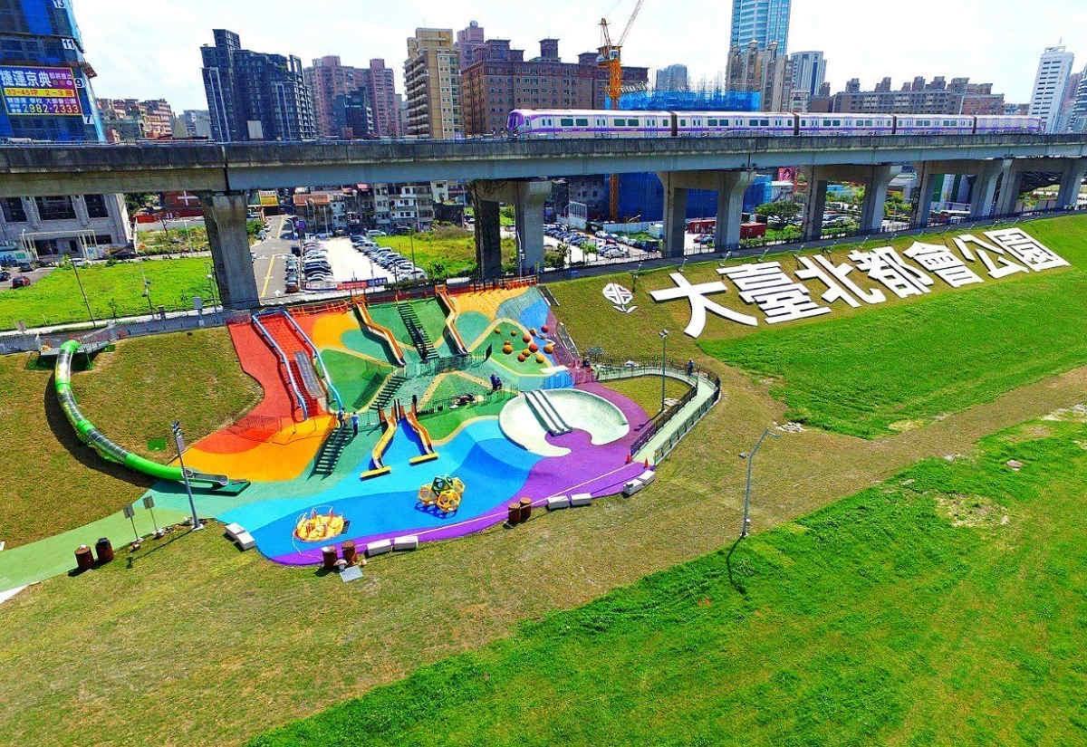 大台北都會公園(圖片來源:新北市觀光旅遊網)