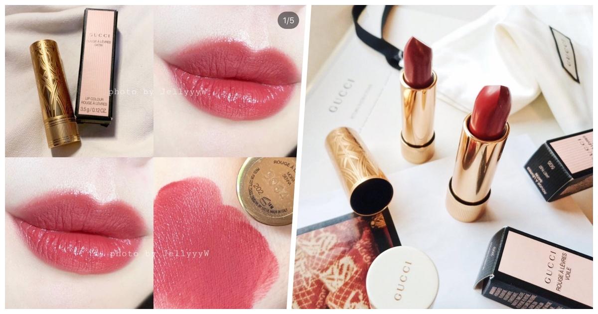 金管唇膏則是迷人的絲緞質地,極佳發色度與超豐富的色選