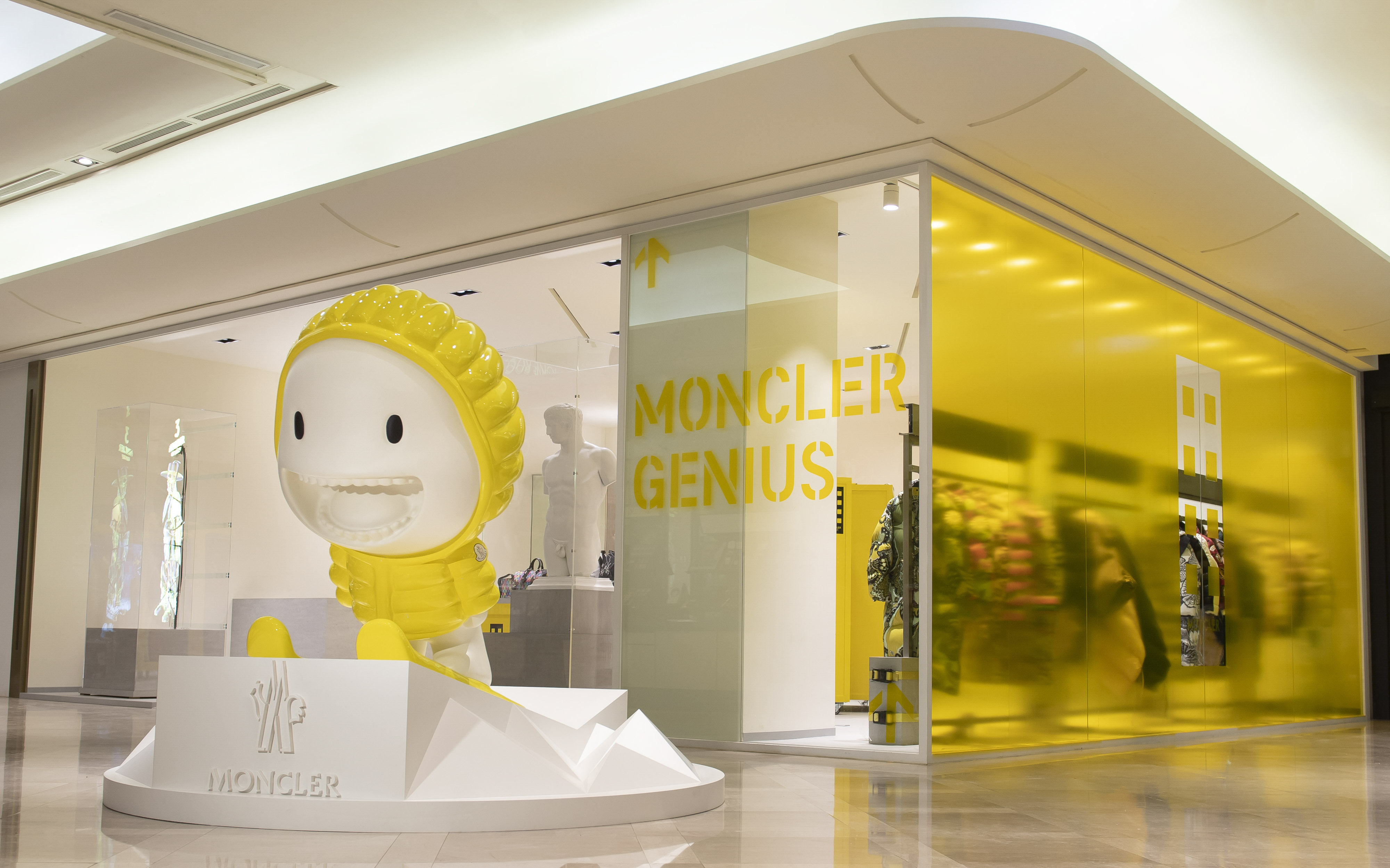 Moncler Genius限時概念店,台灣為亞洲首站