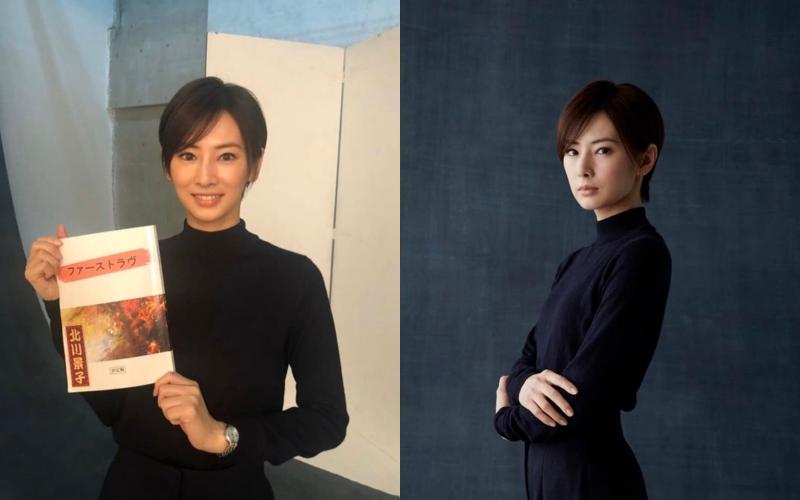 北川景子為與名導堤幸彥合作的電影《初戀》挑戰出道以來最短髮造型。