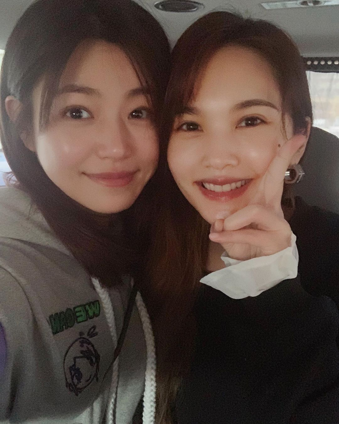 陳妍希、楊丞琳抽空相約,不甩另一半互稱「寶貝」。