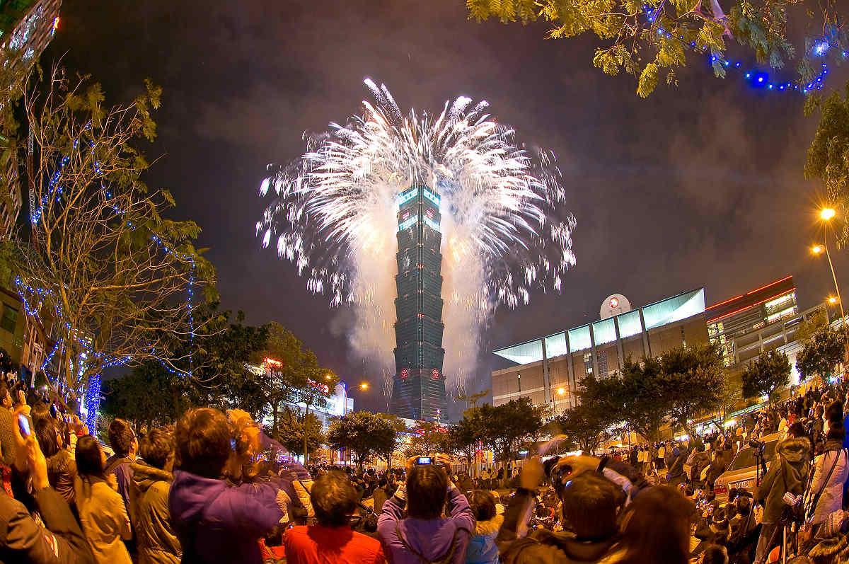 101跨年之美(圖片來源:台北101)