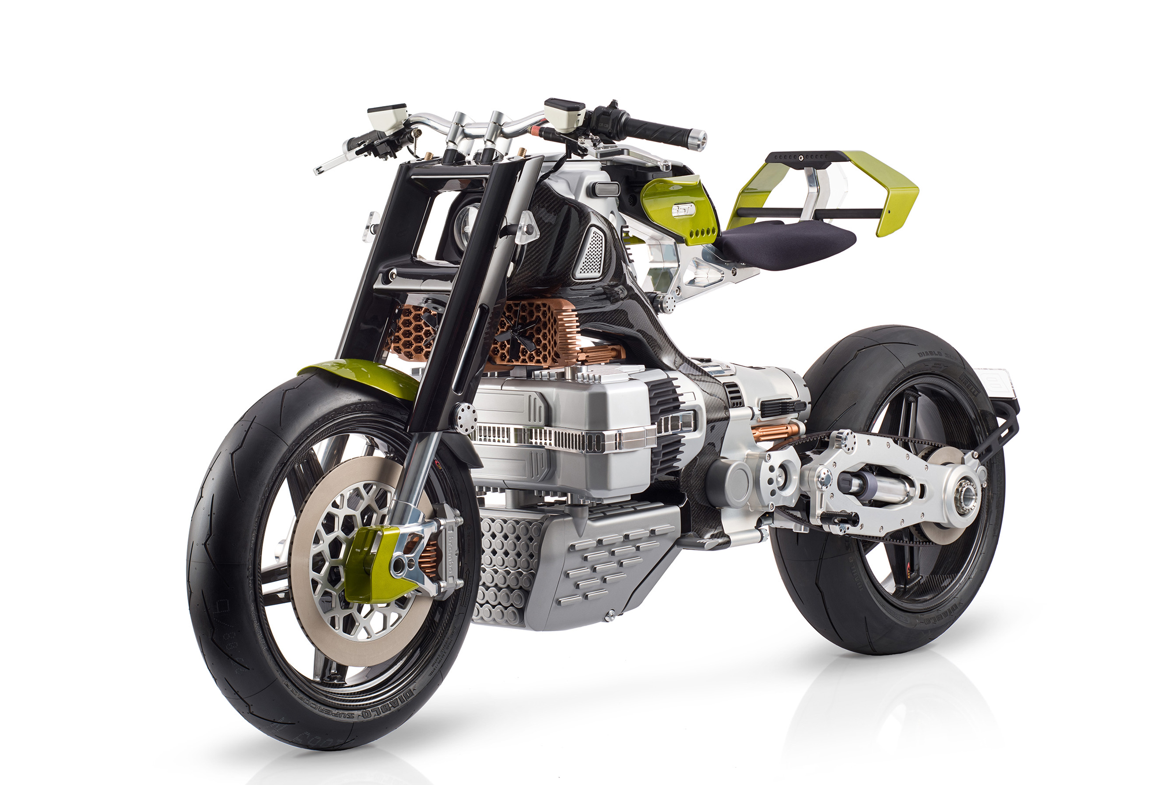 Blackstone HyperTek electric motorcycle smashes all molds