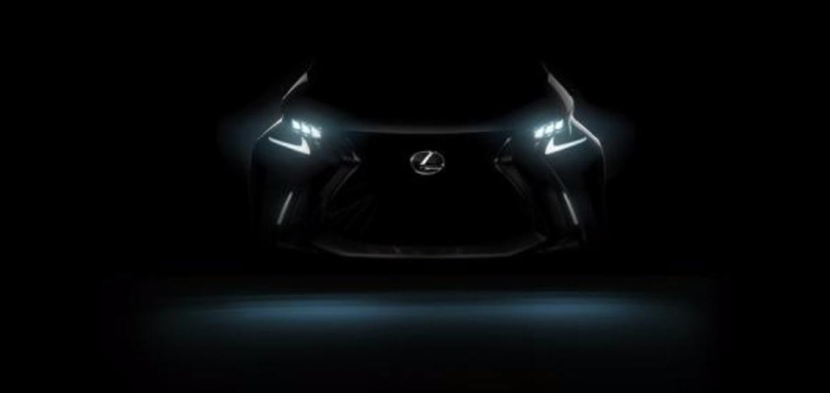 Lexus 公布最新電動車預告圖。