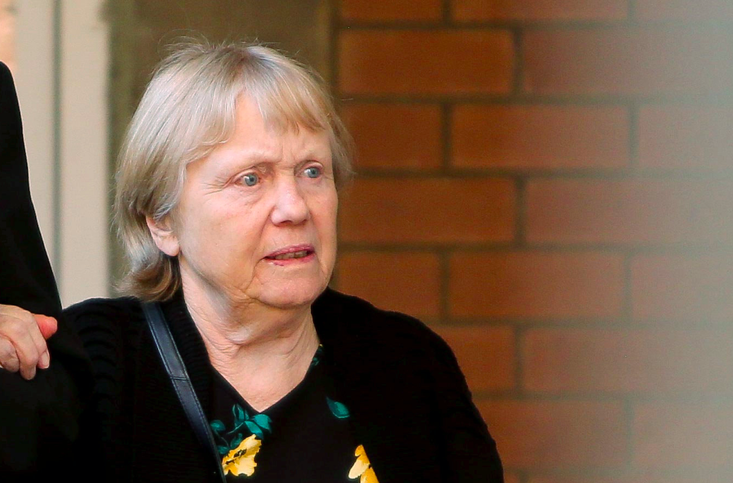 Mavis Eccleston  was charged with murdering her 81-year-old husband by giving him a drink containing prescription medication (SWNS)