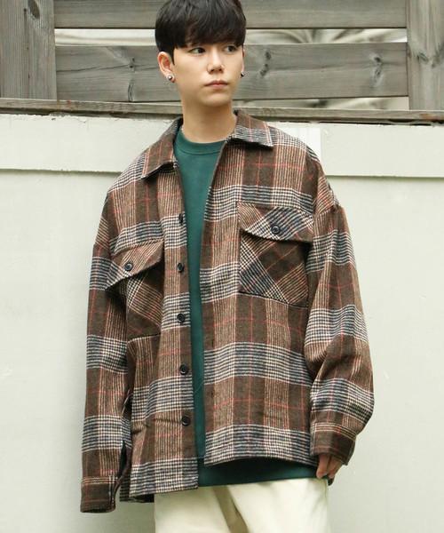 以近年熱門的復古趨勢來看,格紋 CPO 夾克亦是男子們衣櫃中不可少的單品