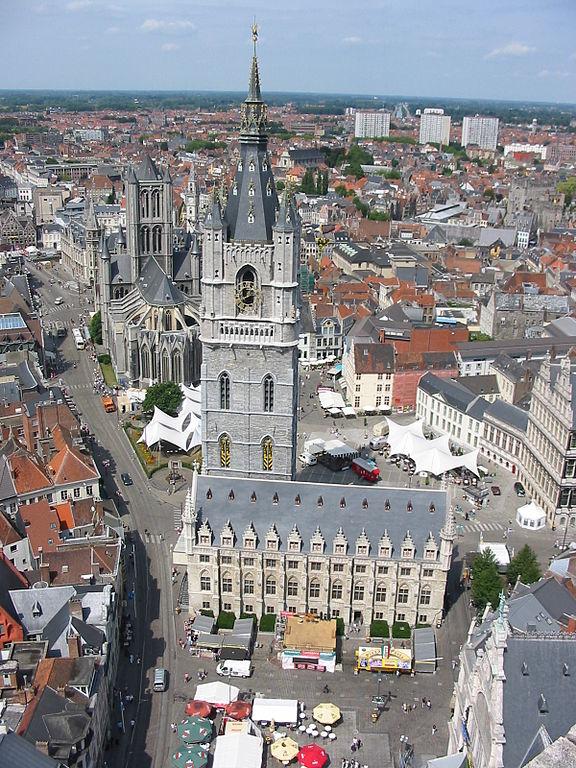 根特 (Photo by Donarreiskoffer at Dutch Wikipedia, License: CC BY-SA 3.0, Wikimedia Commons提供)