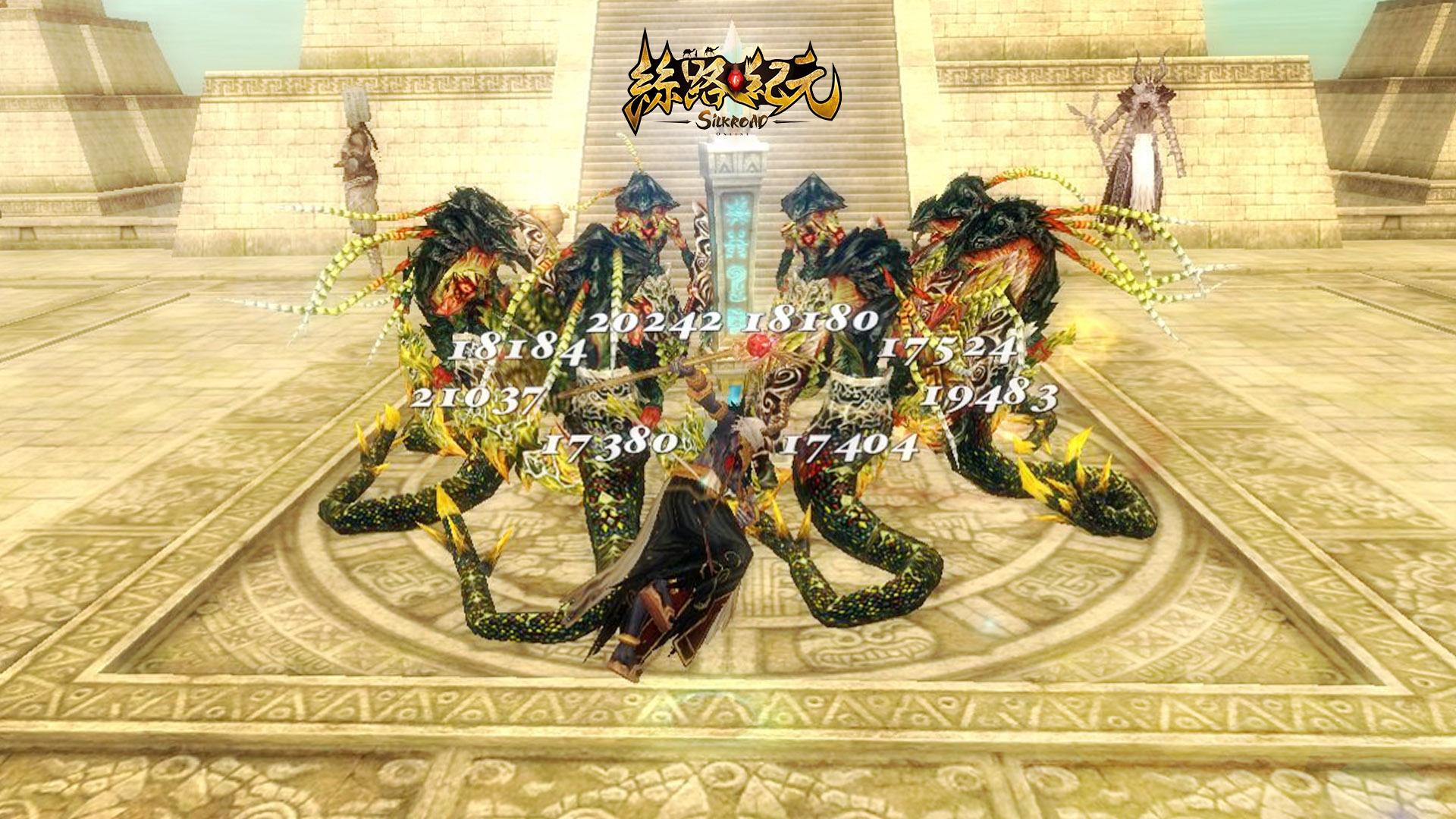 ▲抵擋海量的怪物,保護「守護石」,便是成功攻略副本的唯一條件。