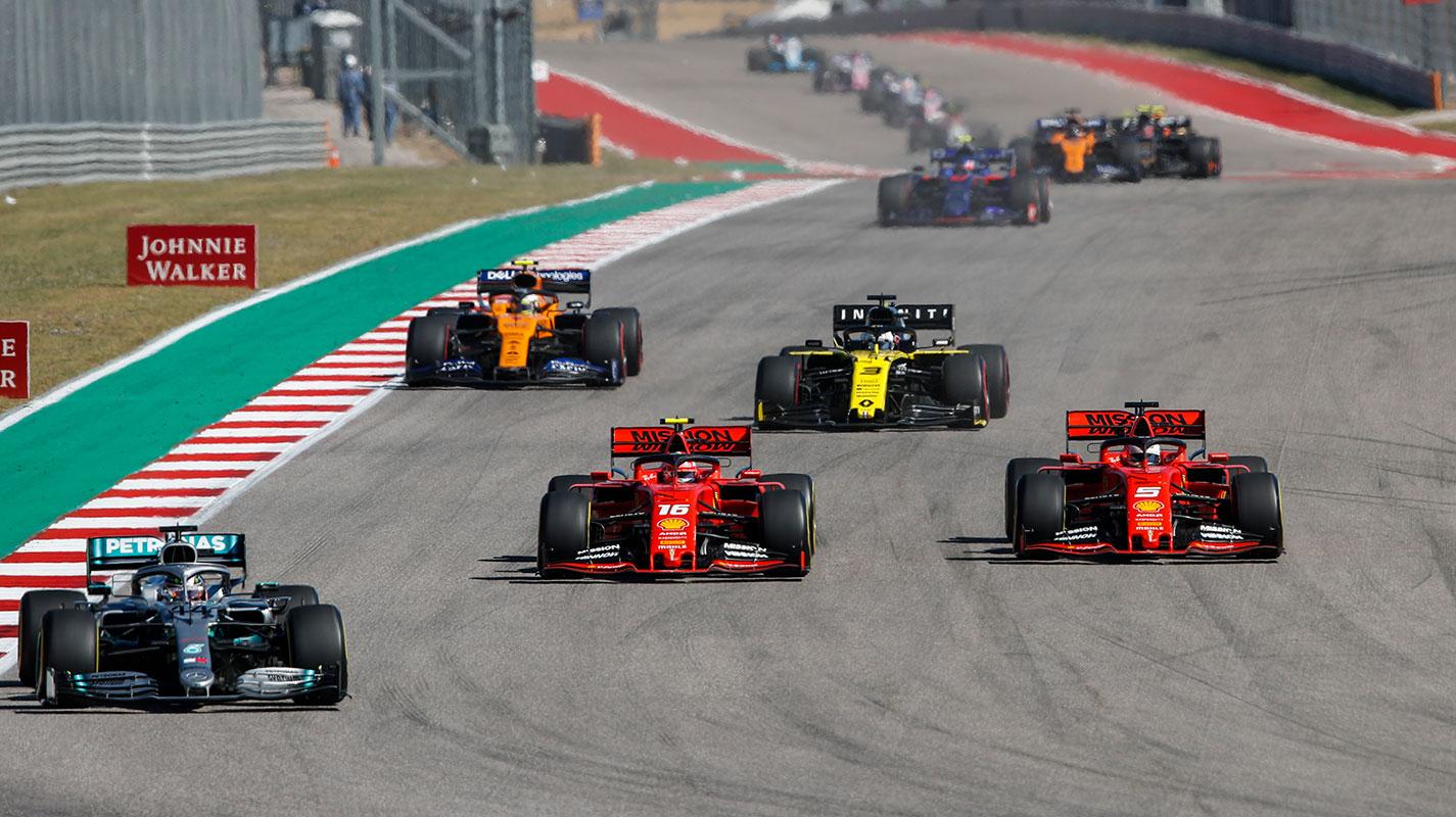 Bottas贏得美國GP而Hamilton提前封王