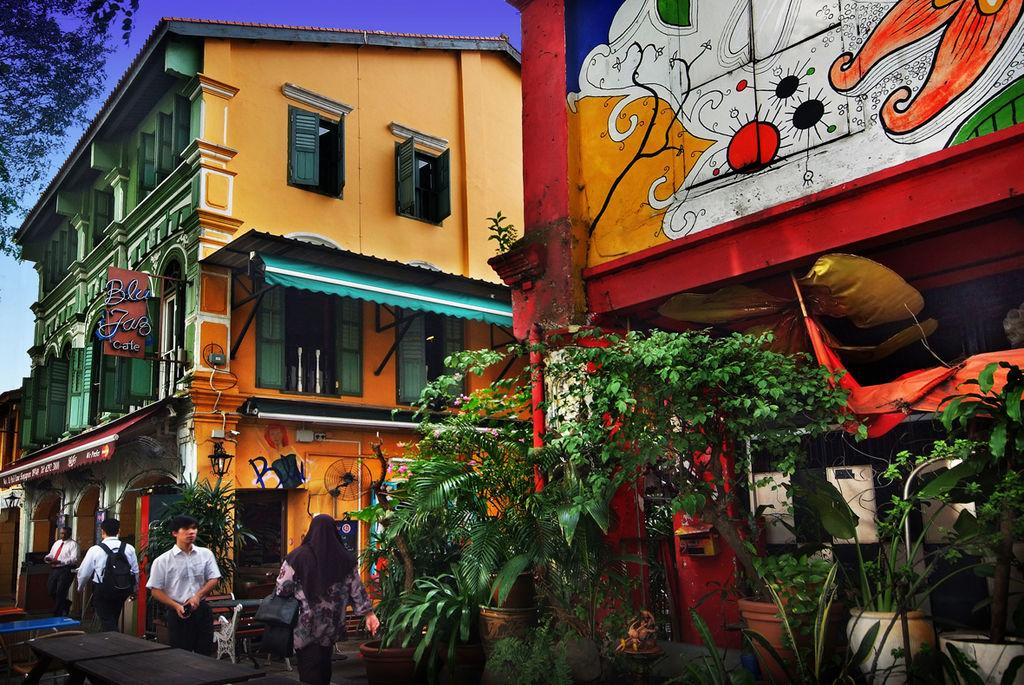 甘榜格南 (Photo by William Cho, License: CC BY-SA 2.0, 圖片來源www.flickr.com/photos/adforce1/3181683844)