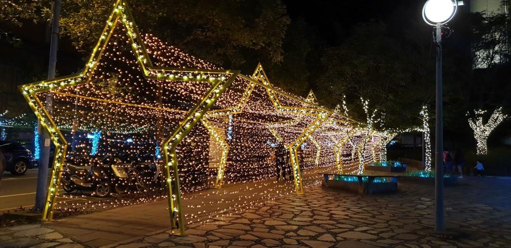 溫泉廣場-星光大道(圖片來源:礁溪觀光旅遊網)