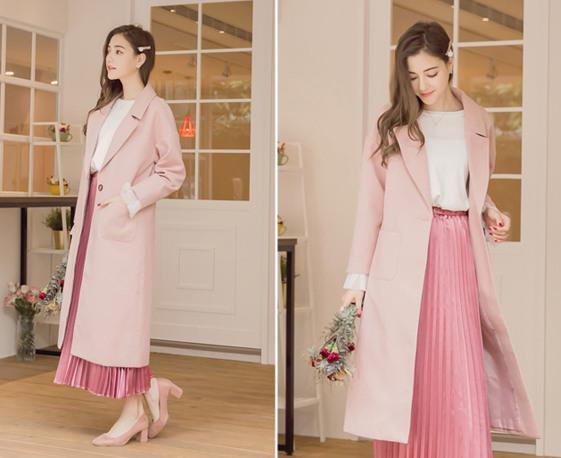 秋冬不要太暗沉,粉色系是首選,看起來超甜美可愛