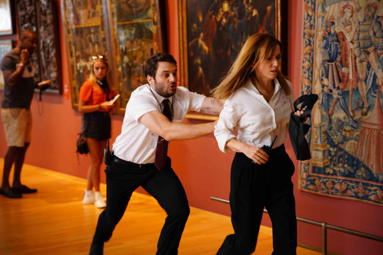 《抓狂博物館》法國男星挑戰15種走位方法抓狂拆舞台