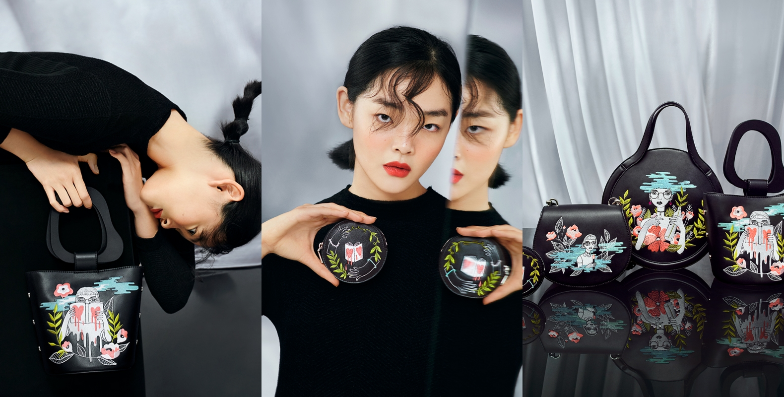 CHARLES & KEITH與新加坡刺繡藝術家Teresa Lim合作