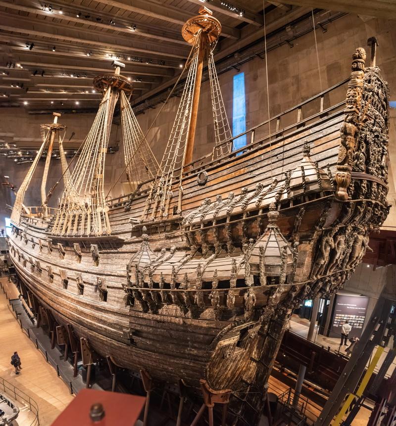 圖/瓦薩號戰艦博物館
