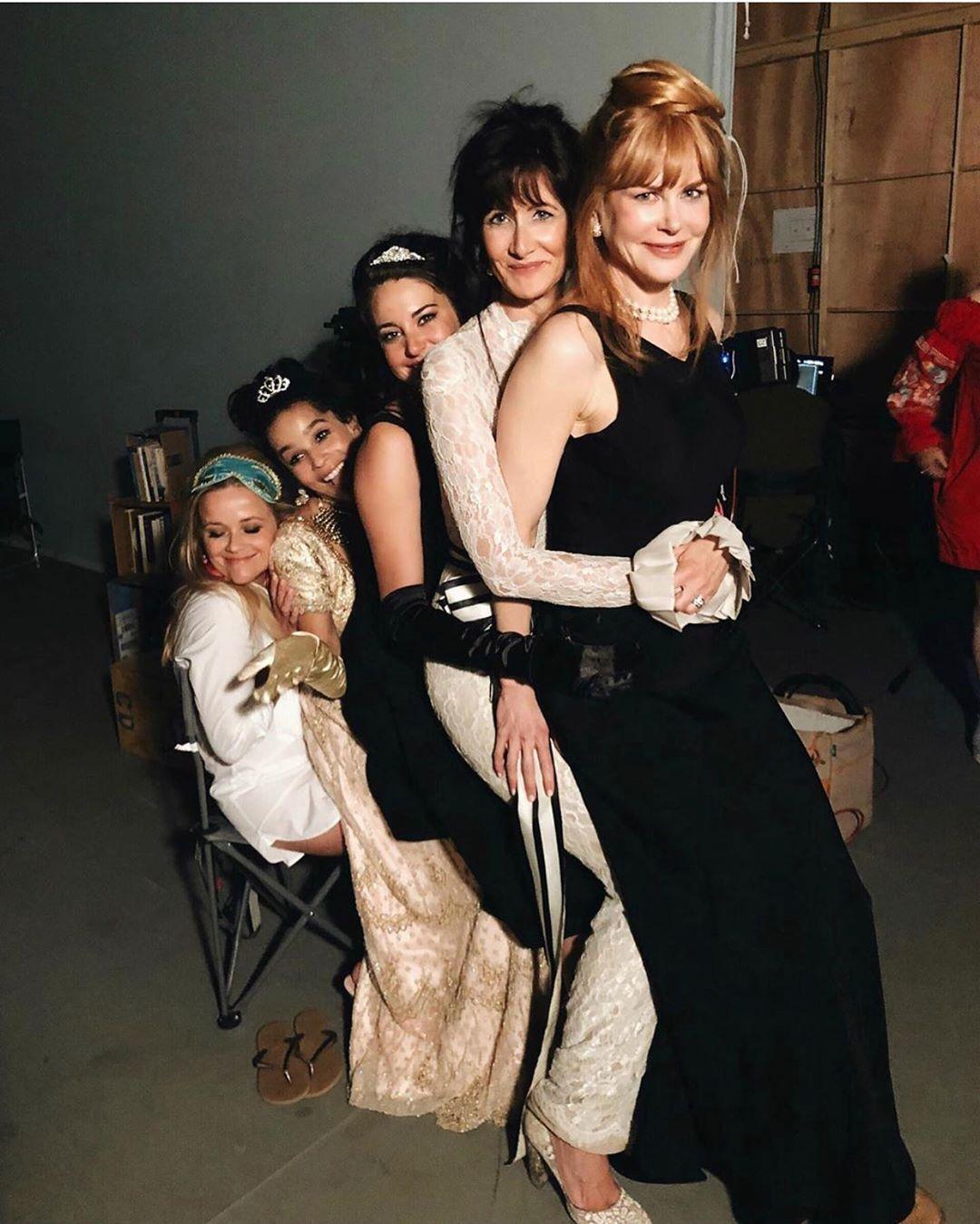 瑞絲薇斯朋之前和妮可基嫚同框時,也留下可愛合影。