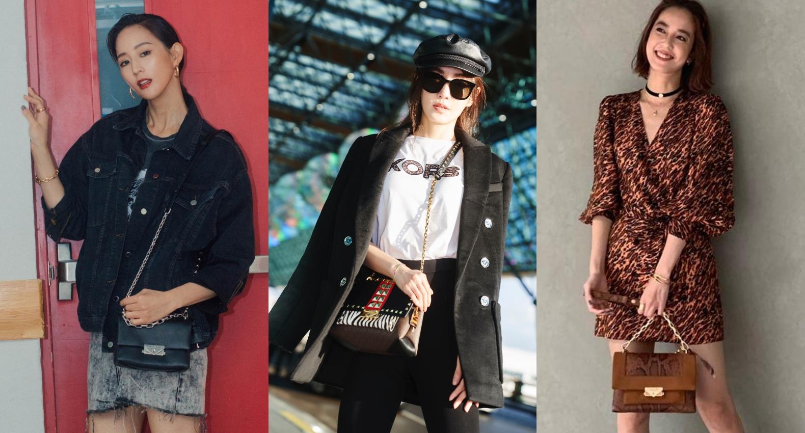 女星街拍包突擊!安心亞、謝金燕、Anne Hathaway...都在揹的時尚it包