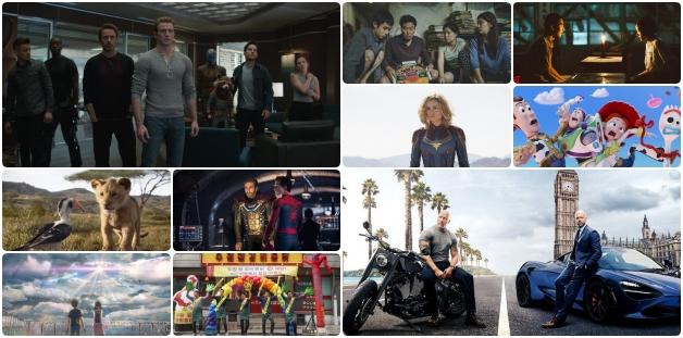 2019年度最多人搜尋的爆紅電影