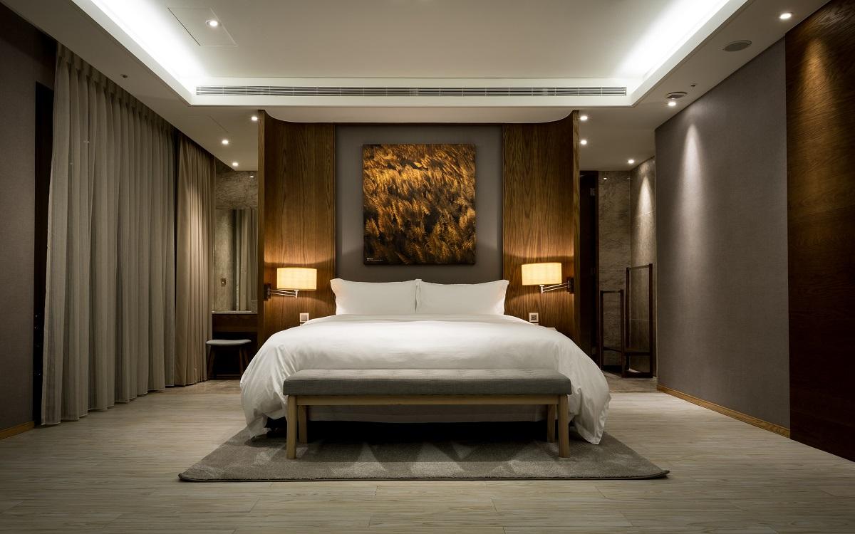 羅東村却推出ITF旅展住宿優惠,再抽11萬元總統套房。(圖/羅東村却國際溫泉酒店)
